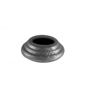 Cache scellement ø50mm pour rond ø20mm pour barreaux en acier