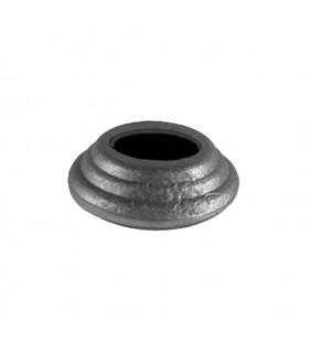 Cache scellement ø80mm pour rond ø30mm acier pour barres ou poteaux