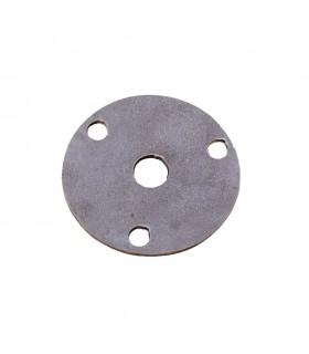 Plaque de fixation Ø100mm trou rond ø12mm en acier