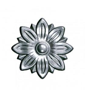 Rosace acier Ø90mm épaisseur 12mm décorative pour portillons et structures métal