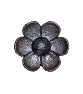 Rosace fonte Ø58mm épaisseur 13mm pour décoration de structures métal