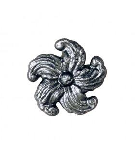 Rosace acier 68x68mm épaisseur 10mm décoratives pour structures métal