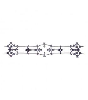 Décoration fonte double face 900x180mm pour appuis de fenetres