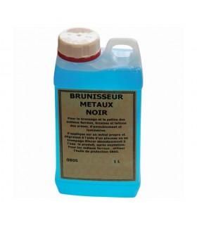 Brunisseur pour métal bidon 1 litre Permet de teinter par oxydation les métaux ferreux