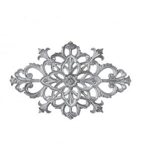 Palmette aluminium 380x245mm épaisseur 22mm décoration de portails