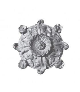 Palmette fonte zinguée 165x165mm epr 25mm décorative pour portails
