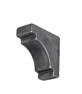 Renfort d'angle acier pour tube de 40x40mm à souder pour renforcer
