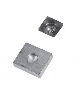 Pivot inférieur pour tube ou carré de 35x35mm à bille en acier grandes charges
