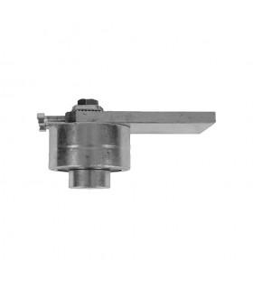 Pivot roulement haut Ø68mm 40x40mm réglage horizontal graisseur