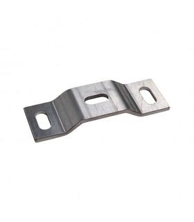 Platine emboutie trou ø12mm en acier support de pivot crapaudine