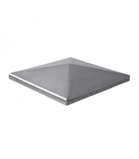 Couvre pilastre acier 60x60mm couvre poteau à souder
