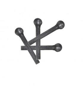 Sac de 50 rivets acier Ø6mm x 40mm de longueur tête sphérique acier