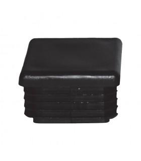 Bouchon nylon 50x50mm plein pour tube carré épaisseur 1 à 2mm