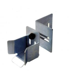 Avaloir Butoir de réception rail de 68mm pour portail autoportant