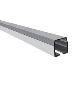 Rail autoportant 72x72mm aluminium pour chariot de guidage cantilever