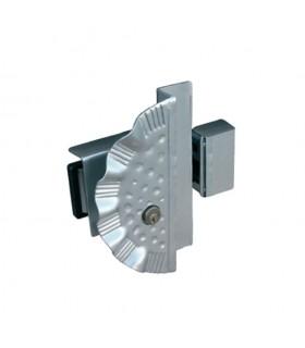 Option Cache-serrure et serrure pour portillons avec ouverture à gauche