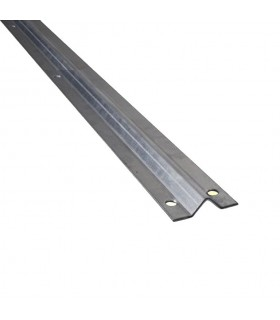 Rail à visser en forme de V longueur 3m pour portails coulissants