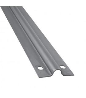 Rail à visser en forme de U INOX ø16mm longueur 3m pour portails coulissants