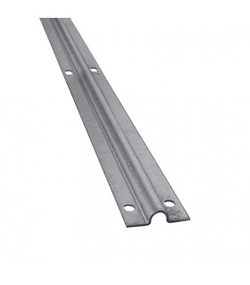 Rail à visser en forme de U ø20mm épaisseur 4mm longueur 3m grande largeur