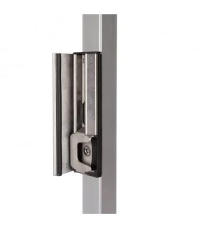 Gache inox de sécurité LOCINOX SH-KL pour portails ouvrants