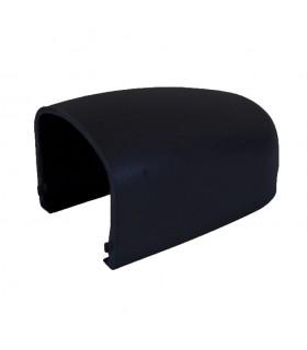 Cache pour modulo gond couleur noir RAL9005 en plastique