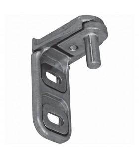 Modulo gond en acier inox sans cache avec 2 points de fixation