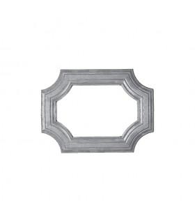 Cadre moulé 300x218mm en profil de 45x10mm pour soubassement de portillon