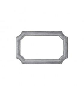 Cadre moulé 485x295mm en profil de 45x10mm pour soubassement de portillon