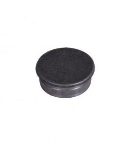 Bouchon de tube ø42,4mm epr 2,5mm de main courante en acier