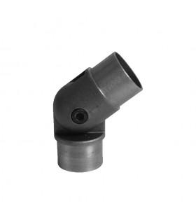 Coude réglable 90°-270° de main courante en acier pour tube ø42,4mm epr 2,5mm