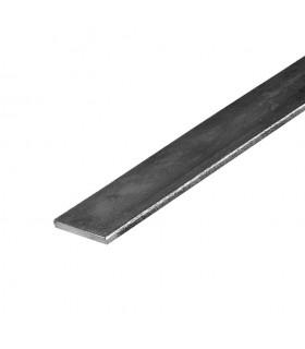 Barre profilée plate 70x6mm longueur 2m lisse en acier laminé brut