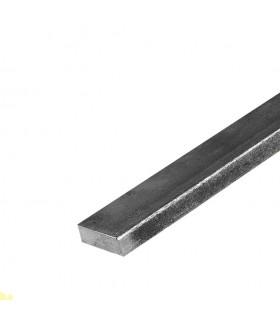 Barre profilée plate 35x15mm longueur 2m lisse en acier laminé brut