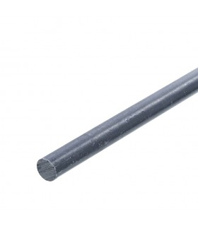 Barre profilée rond ø12mm longueur 2m lisse en acier laminé brut