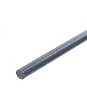 Barre profilée rond ø12mm longueur 3m lisse en acier laminé brut