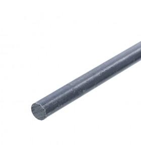 Barre profilée rond ø14mm longueur 2m lisse en acier laminé brut