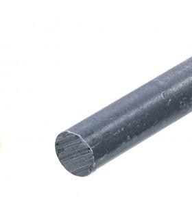 Barre profilée rondde de ø25mm longueur 2m lisse en acier laminé brut