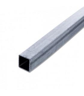 Tube de pergola 40x40x2mm longueur 3m en acier galvanisé zinzimir