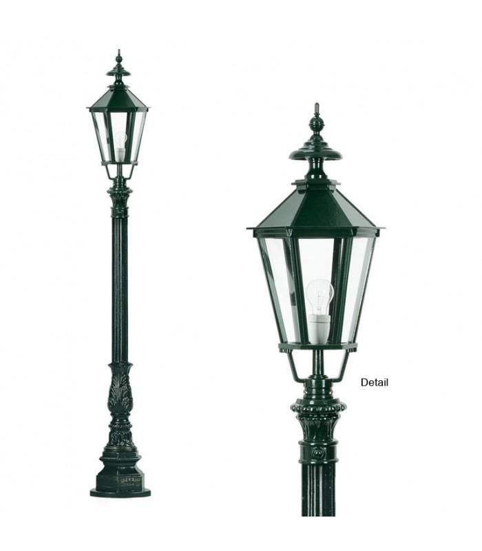 Lampadaire Heidelberg monté sur potelet hauteur 180cm