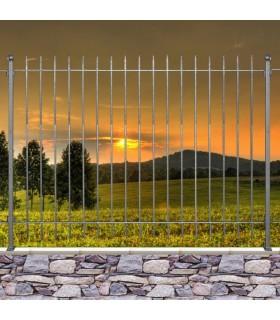 Grille clôture EASY 15 prête à poser
