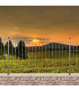 Grille cloture ITALIA 12 prête à poser