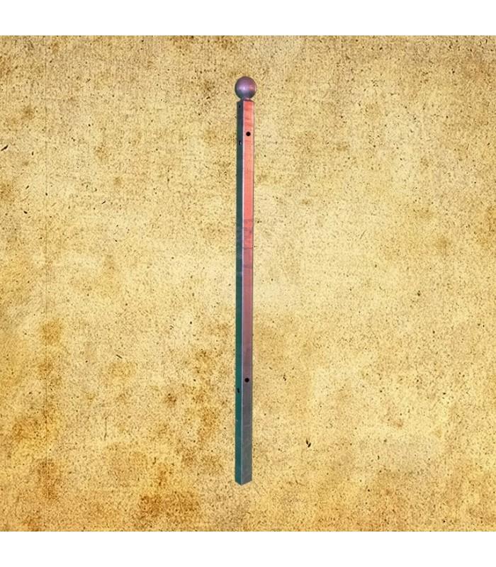 Poteau d'angle Linear à sceller 1350mm