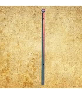 Poteau d'angle de cloture Linear à sceller 1650mm