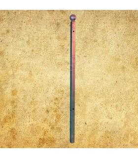 Poteau d'angle de cloture Linear a sceller 1350mm