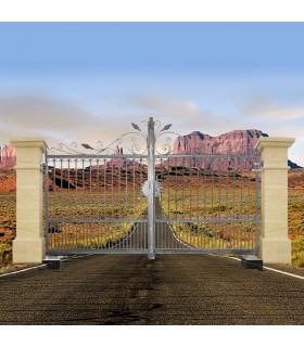 Portail ARTEMIDE 3,5m 14x14mm