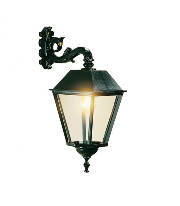 Luminaire potence faubourg carr 55cm for Luminaire exterieur carre