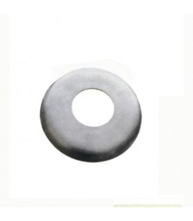 Coupelle cache embase pour poteau Ø42,4 INOX304