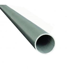Tube rond INOX304 Ø42,4mm brossé grain 320