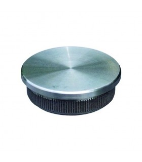 Bouchon plat de finition INOX304 Ø42,4mm