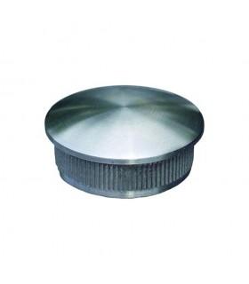 Bouchon bombé de finition INOX304 Ø42,4mm