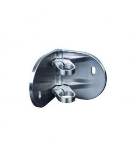 Platine articulée et anneaux de serrage INOX316